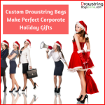 Custom Drawstring Bags Make Perfect Corporate Holiday Gifts