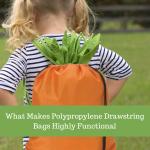 What Makes Polypropylene Drawstring Bags Highly Functional