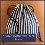 Custom Drawstring Bags- A Perfect Custom Item For All Events
